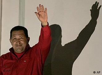 Chavez waving