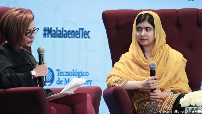 Mexiko Malala Yousafzai (picture-alliance/ZumaPress)