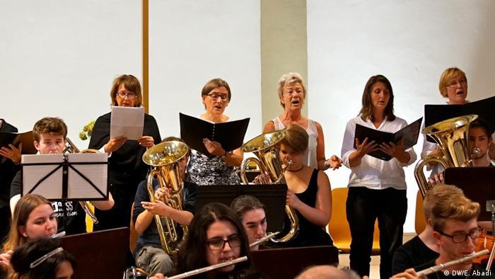 Konzert in der Gesamtschule Gartenstadt in Dortmund (DW/E. Abadi)