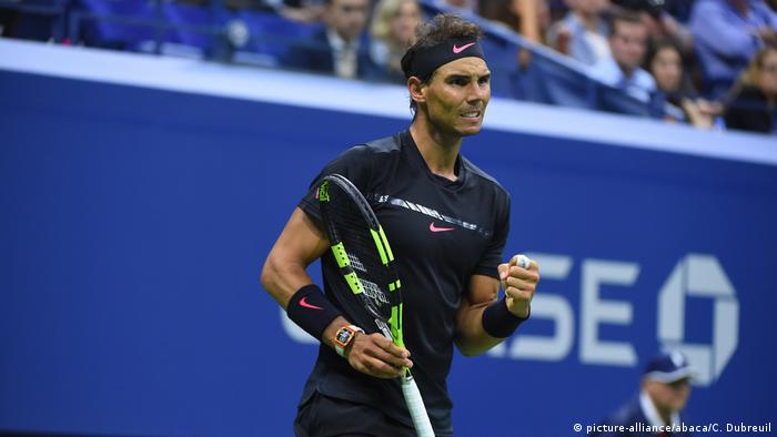 2017 US Open - Rafael Nadal (picture alliance / abaca)
