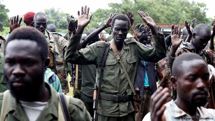 Rebellen in Südsudan (Reuters/G. Tomasevic)