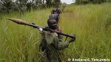 Rebellen in Südsudan
