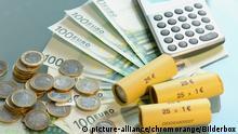 Taschenrechner und Euro | Verwendung weltweit
