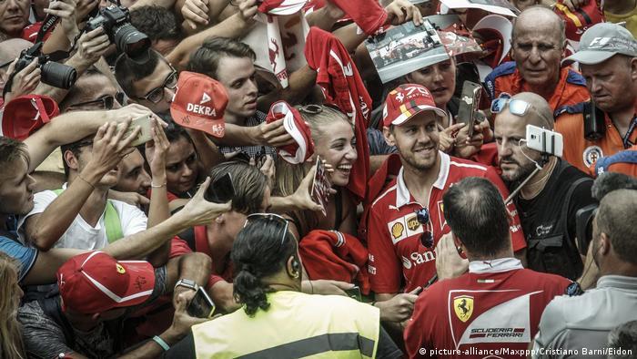 Vettel Die Tifosi Und Der Mythos Monza Sport Dw 01 09 2017