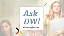 DW #GermanyDecides AskDW! englisch (Upload-Tool)