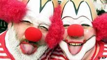 Clowns im Karneval
