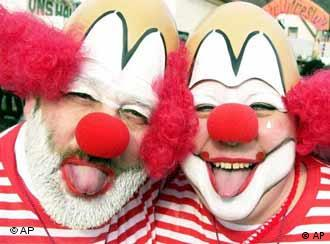 Clowns at Cologne Carnival