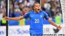 FIFA 2018 WM Qualifikation Frankreich - Niederlande Kylian Mbappe