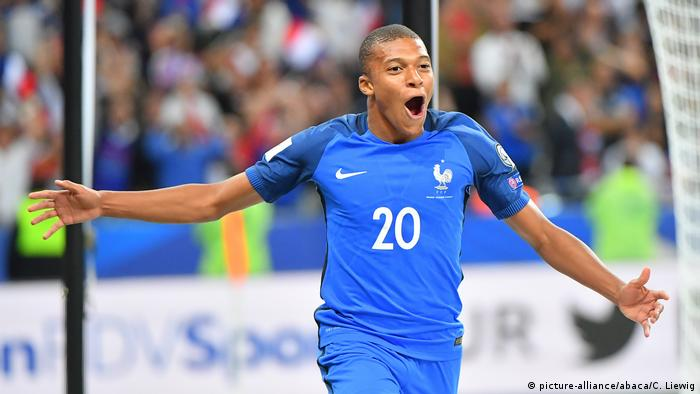 Kylian Mbappe (picture-alliance/abaca/C. Liewig)