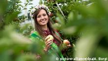 Deutschland BdT Apfelsaison Sächsische Blütenkönigin