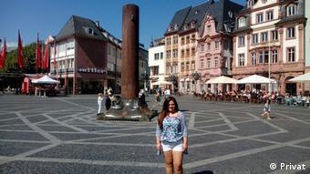 Francisca Quintanilla llegó a Alemania gracias a la visa Working Holiday. Ahora quiere estudiar en Mainz.