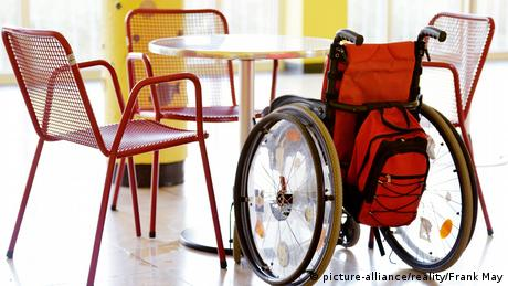 Stock photo - disability (picture-alliance/reality/Frank May)