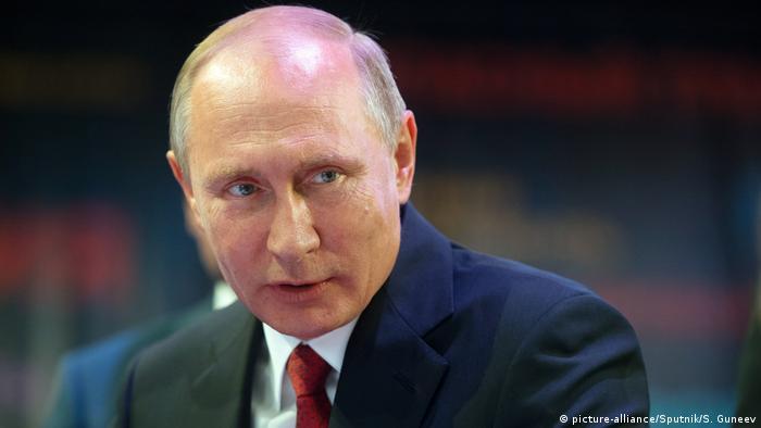 Russland Präsident Wladimir Putin (picture-alliance/Sputnik/S. Guneev)