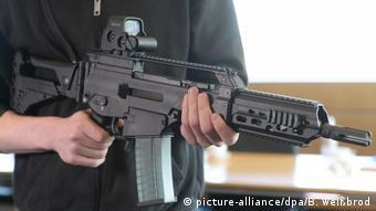 Miles de fusiles de asalto G-36 de H&K fueron vendidos ilegalmente a México.