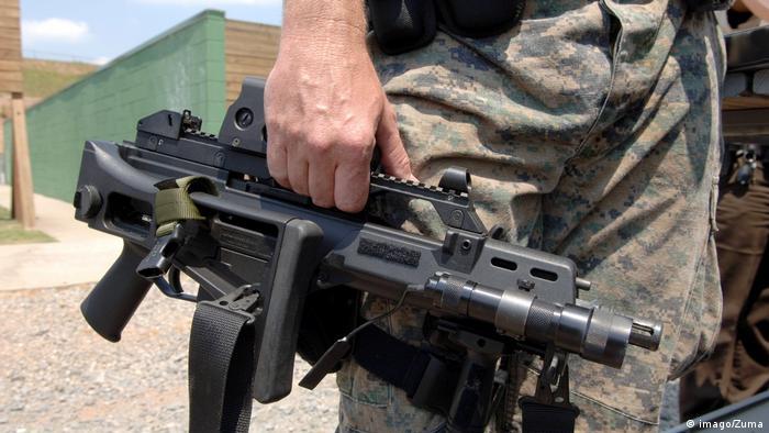 Heckler Koch G-36 65mm Symbolbild Kleinwaffen