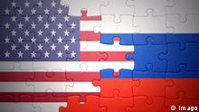 Symbolbild USA Russland Beziehungen