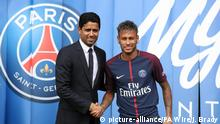 Paris Saint-Germain Vorstellung Neymar