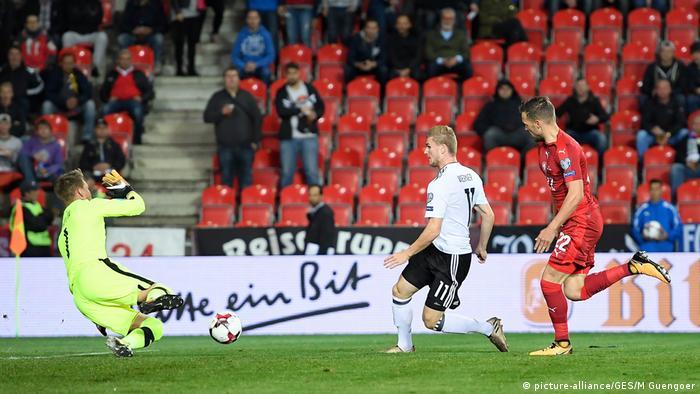 WM Qualifikation Tschechische Republik - Deutschland Werner