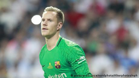 Supercup 2017 - Real Madrid vs FC Barcelona - Andre Ter Stegen (picture-alliance/nordphoto/Alterphotos/nph)
