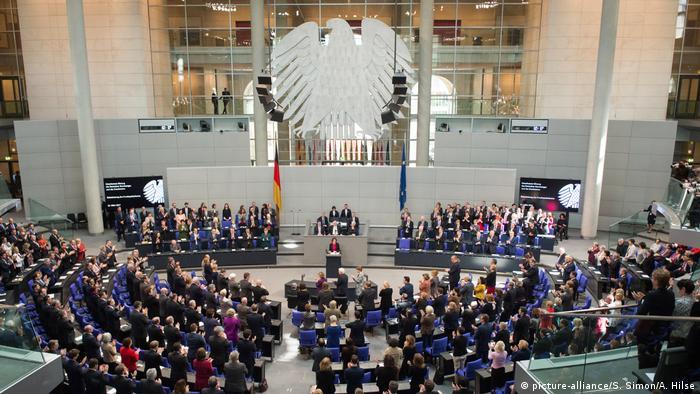 Deutschland Berlin - Vereidigung des Bundespraesidenten Frank-Walter Steinmeier