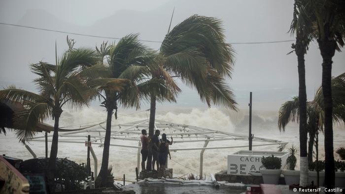 Mexiko Los Cabos - Sturm Lidia (Reuters/F. Castillo)