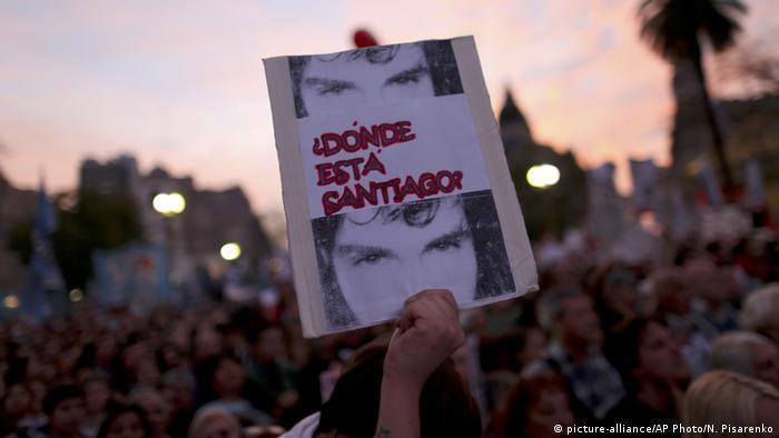 ARGENTINA: cuerpo hallado podría ser de Santiago Maldonado