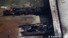 USA Texas Crosby - Arkema Chemieanlage Brennt