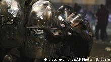 Argentinien Protest in Buenos Aires | Suche nach Santiago Maldonado