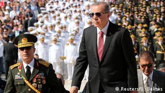Turkish President Tayyip Erdogan in Ankara