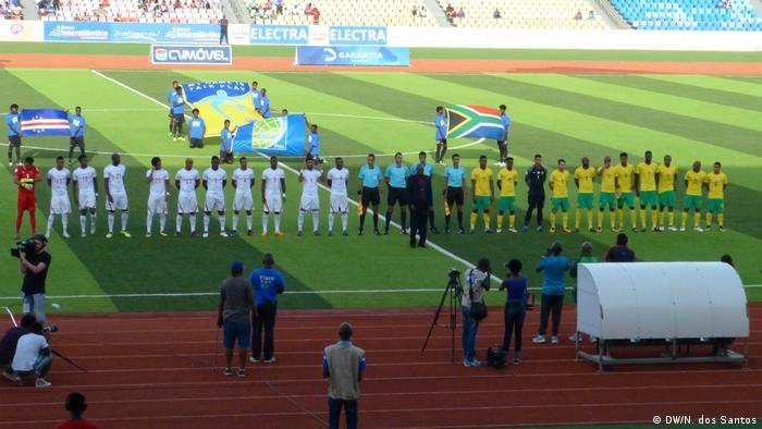 Cabo Verde tinha vencido frente à África do Sul, em setembro, por 2 a 1.