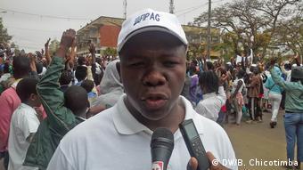 Mosambik Friedensmarsch Daniel Marques