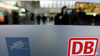 Video camera and Deutsche Bahn logo symbolizing breach of data protection laws