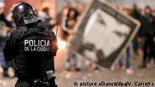 Argentienien Proteste nach Verschwinden eines Indio-Aktivisten