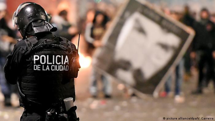 La desaparición de Maldonado provocó protestas en días pasados.