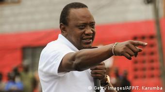 Kenia nach der Annulierung der Präsidentenwahl | Uhuru Kenyatta