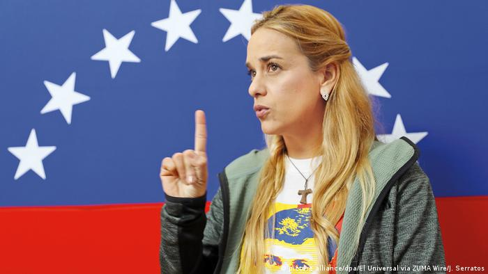 Venezuela Lilian Tintori (picture alliance/dpa/El Universal via ZUMA Wire/J. Serratos)