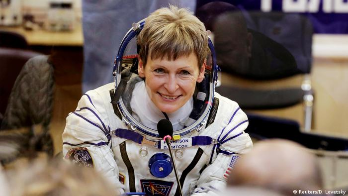 US-Astronautin Peggy Whitson (Reuters/D. Lovetsky)