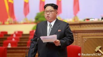 Archivbild Kim Jong-Un (Reuters/KCNA)