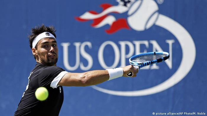 Bad boy Fognini facing boot from US Open