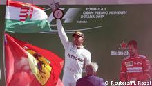 Italien Formel 1 Siegerehrung Großer Preis Monza | Hamilton und Vettel