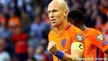 WM Quali Niederlande gegen Bulgarien | Arjen Robben