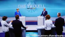 Duelul TV Angela Merkel - Martin Schulz (picture alliance/Dpa/dpa)