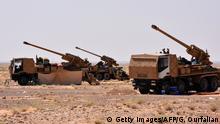 Syrien Deir ez-Zor Geschütze