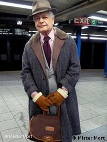یکی از پیرمردان خوشپوش نیویورک، عکس از وبلاگ Advancedstyle