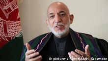 Afghanistan Hamid Karzai Ex-Staatspräsident