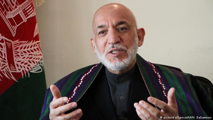 Afghanistan Hamid Karzai Ex-Staatspräsident (picture-alliance/AA/H. Sabawoon)