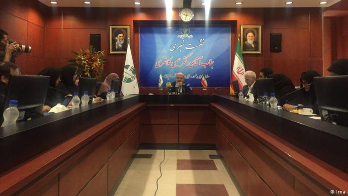 Iran Pressekonferenz Issa Kalantari, Umweltschutzorganisation (Irna)