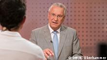 Deutschland wählt DW Interview mit Joachim Herrmann