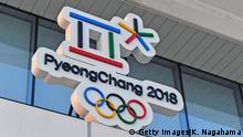 Südkorea Logo Olympische Winterspiele 2018