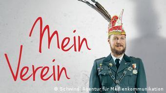 Poster for exhibition Mein Verein